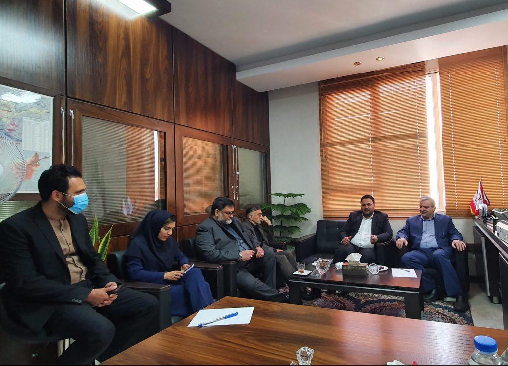 اولین جلسه هم اندیشی و هماهنگی با حضور مصطفی سعیدی مدیرعامل